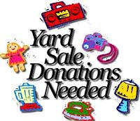 Donations Needed for Community Garage Sale Benefit!