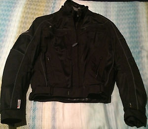 Olympia 3 in 1 padded motorcycle coat