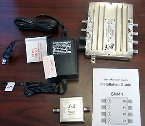 FACTORY SEALED SW-44 SATELLITE SWITCHES BRAND NEW HOT PRICE !!!