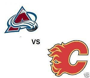 2 or 4 Tickets Flames vs Avalanche (BEST SEATS) Feb 24