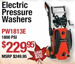 Echo & Shindaiwa power equipment sale, 5 year homeowner warranty