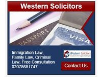 IMMIGRATION SPECIALIST SOLICITORS- FREE INITIAL CONSULTATION