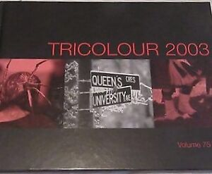 Queens tri colour year books 71,72,,00,03,08