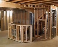 Need your Basement Framed?!