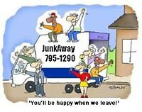 JunkAway! serving Lethbridge since 2005!