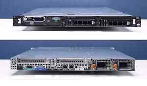 Dell 1950 server: 1x Xeon + 8 GB RAM
