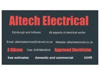 Electrician - approved electrician - edinburgh and lothians