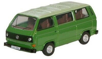 Oxford Die-cast 76t25005 VW T2 Bus Green 1:76 OO scale Volkswagen