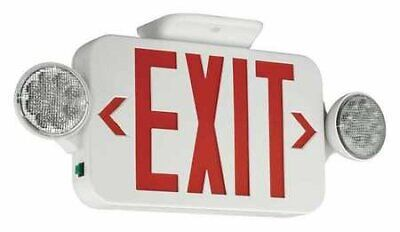Exit Sign With Emergency Lights 3.56w