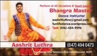 Bhangra and Bollywood Lessons/Classes in Brampton!