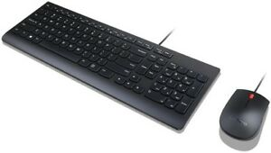 Lenovo Essential USB Keyboard + Mouse Set **NEW**