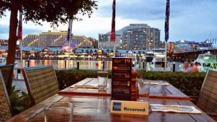 Friday 23rd March - Baia The Italian, Darling Harbour