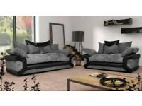 3&2 sofas New #with FREE FOOTSTOOL ##