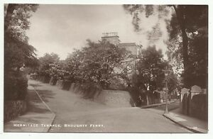 POSTCARDS-SCOTLAND-DUNDEE-BROUGHTY FERRY-RP. Hermitage Terrace.
