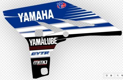 YAMAHA YZ250F 2010-13 Graphics Kit
