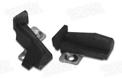 69-75 (69 Late) Corvette Convertible Import Weatherstrip Body Lock Pillars 42943