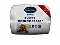 Mattress topper: for single bed: Make Silent night. New