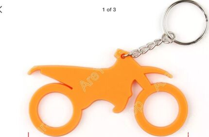 Wanted: Lost Car Keys on pictured motorbike keyring