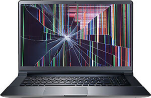 Broken LCD Screen for Laptops repair from $40 !!!!