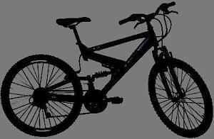 Mountain Bike For Sale, FULL SUSPENSION Raleigh, 20-Inch Frame, 21-Speed, 26-inch tires,