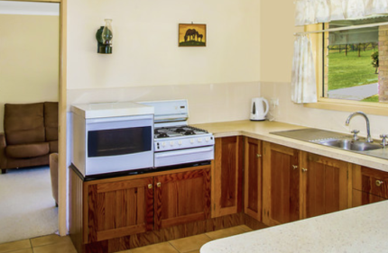 Stove Oven side by side elevated gas cooker