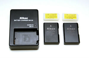 Nikon DSLR Charger with Batteries for 3000, 5000, 7000 series