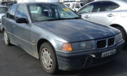 BMW E36 3/1996 318i Grey Sedan (PARTS ONLY)