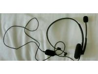 GENUINE X BOX 360 HEADSET