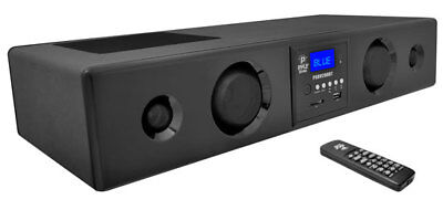 Pyle PSBV200BT 300W Bluetooth Soundbar Speaker USB/SD AUX FM Radio & Remote