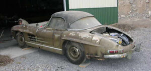 Mercedes 300 SL gullwing or Roadster wanted