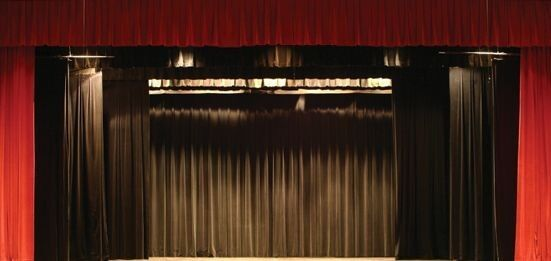 NEW Stage Curtain~10 X 15 FR Black Backdrop~FREE SHIPPING~ More Sizes Available