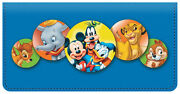 Leather Disney Checkbook Cover