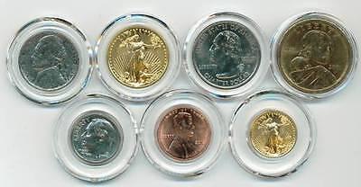 10 26mm Air-tite Air Tite Airtite Airtight Coin Capsules For Small Dollars A26