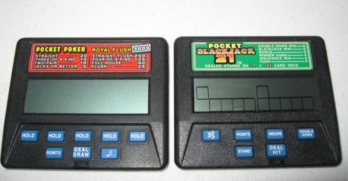 electronic poker game