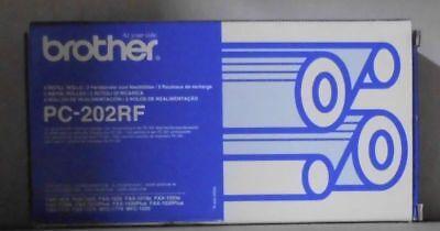 - Brother PC-202RF Farbänder 2er Pack FAX 1010 1020 1030 1010e 1020e 1030e OVP A