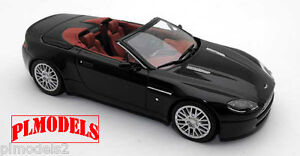 MINICHAMPS - ASTON MARTIN V8 VANTAGE ROADSTER 2009 BLACK 1:43 SCALE #400 137431