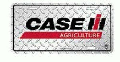 Case IH Agriculture Diamond License Plate