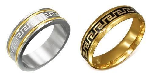 Versace Gold Wedding Ring