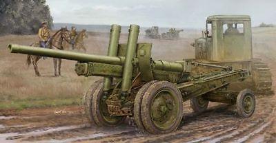 TRUMPETER MODELS 2325 - 1/35 Soviet A-19 122mm Gun Mod 1937 Plastic Model - NIB