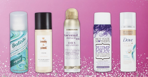 hair products dry shampoo generous travel sizes