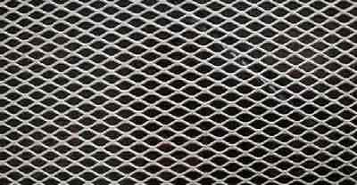 Alloy 304 Expanded Stainless Steel Sheet - 34 9 Flat 36 X 48