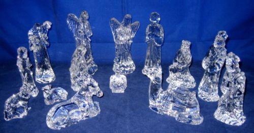 Waterford Crystal Nativity Set Ebay