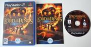 Lord of The Rings The Third Age PS2