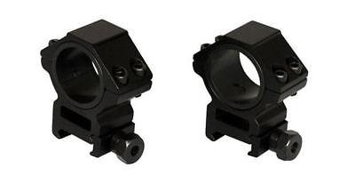 Weaver Style 30Mm  1 Inch Insert Heavy Duty Hexagon Shape Rifle Scope Rings Med