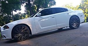 """20"""" 22"""" 24"""" 26"""" Directional Style Rim's n Tire Pkg On Clearance"""