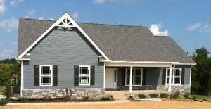 1608sf Ranch House Plan W Garage Blueprints Design