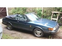 SAAB 900S TURBO CONVERTIBLE - CLASSIC