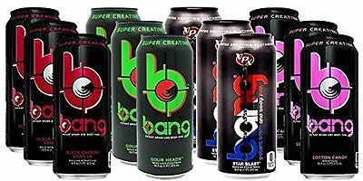 VPX BANG Energy Drink Mark PACK CASE OF 12 + FREE SHIPPING!