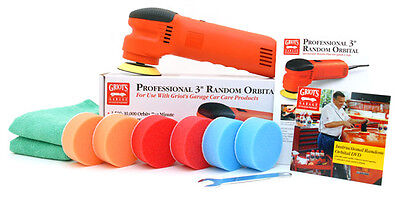 Griot's Garage 3 Inch Orbital Polisher Kit - griots spot buff buffer griotts