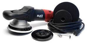 Flex 3401 gear driven & Adams mini swirl killer polishers
